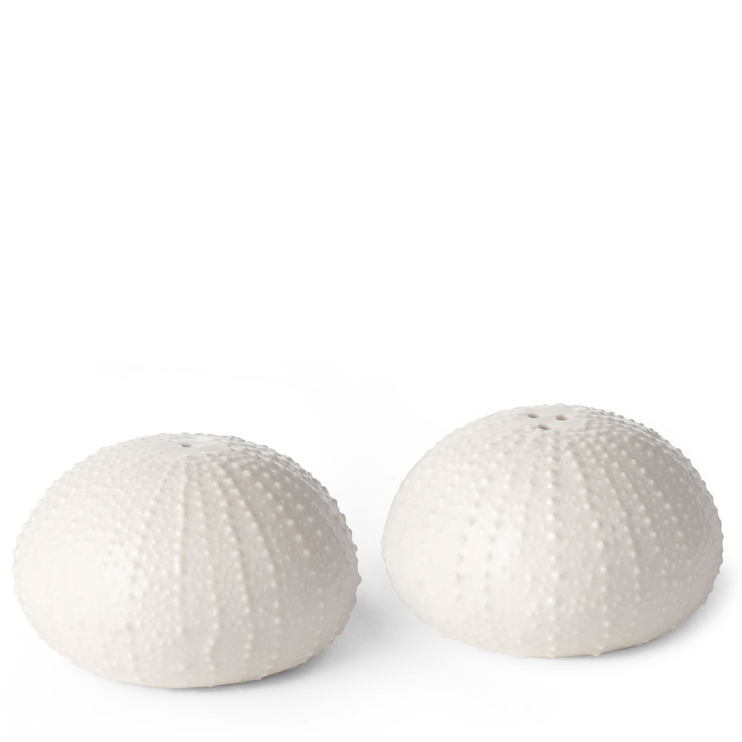Sea Urchin Salt and Pepper Shakers