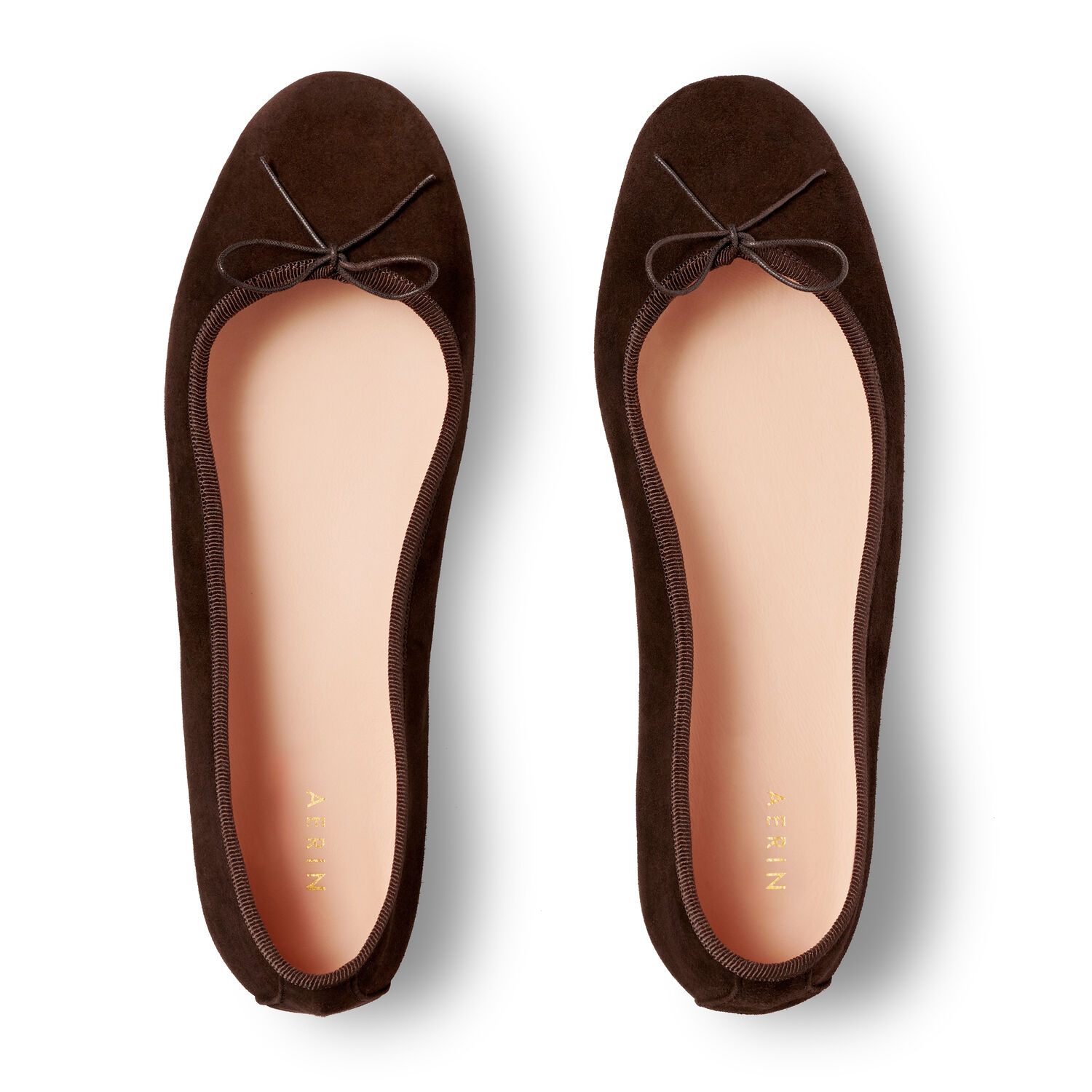 Suede Ballet Flat, Cocoa