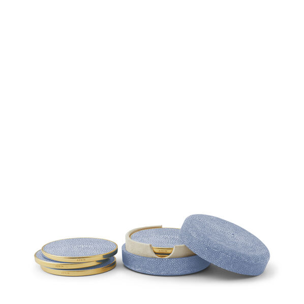 Shagreen Coaster, Set of 4