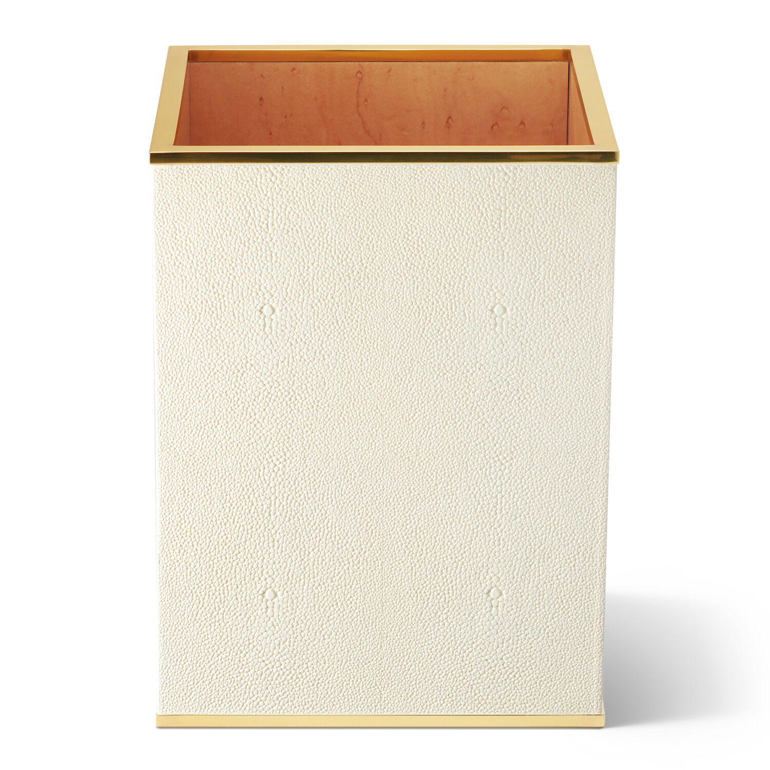 Classic Shagreen Waste Basket