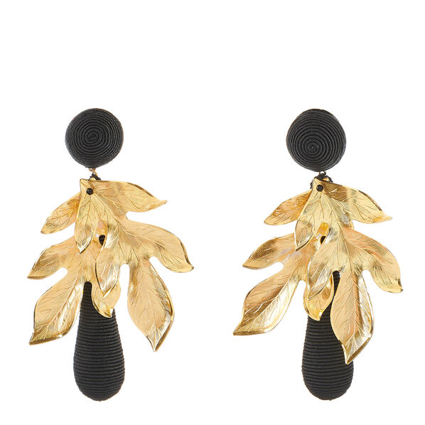 Violetta Earring, Black