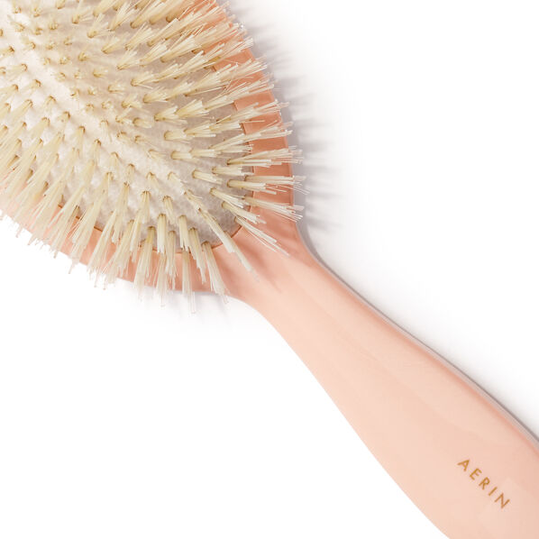 Large Pink Hairbrush