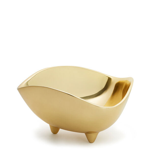 Footed Deco Small Bowl