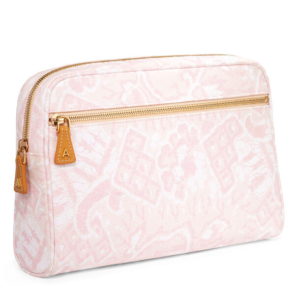 Medium Batik Beauty Bag