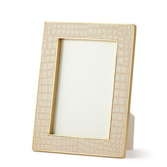 Classic Croc Leather 4x6 Frame