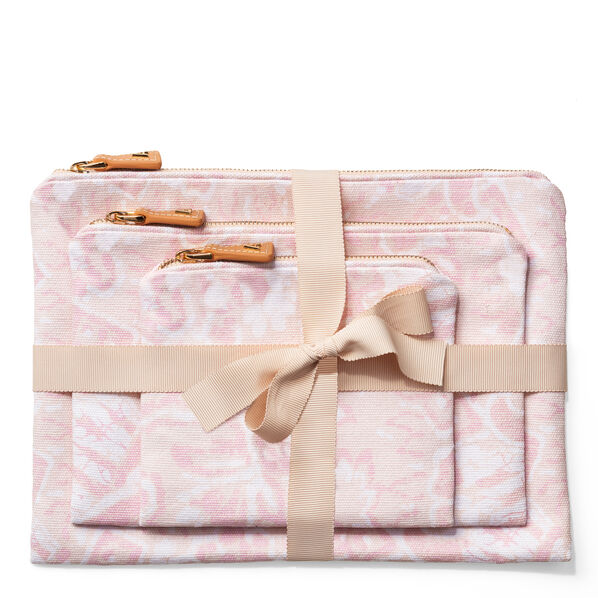 Batik Beauty Bag Set