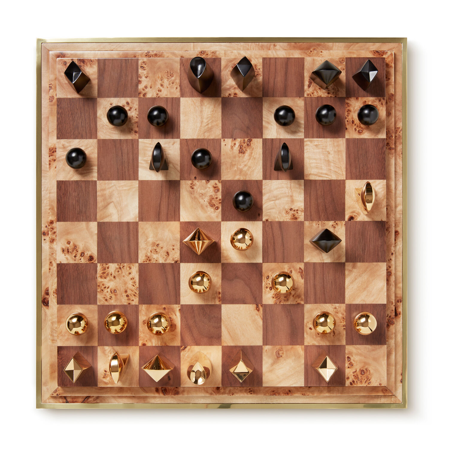 Shagreen Chess Set