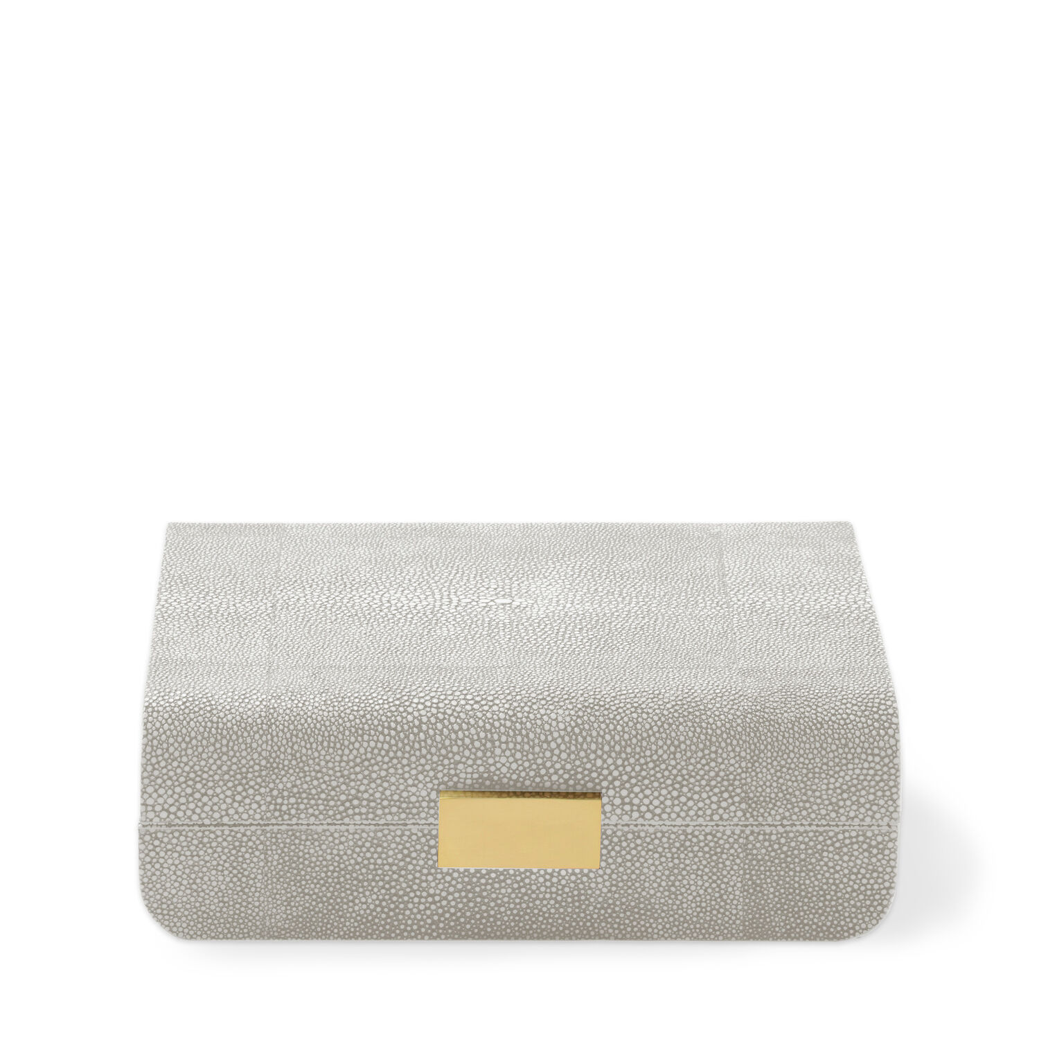 Modern Shagreen Small Jewelry Box