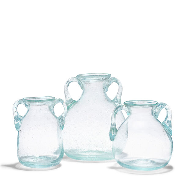 Amphora Vases, Set of 3