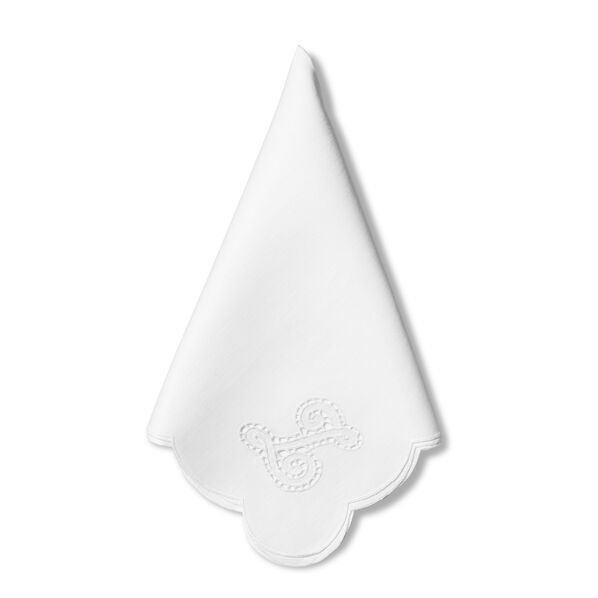 Rendezvous Scallop Edge Dinner Napkin