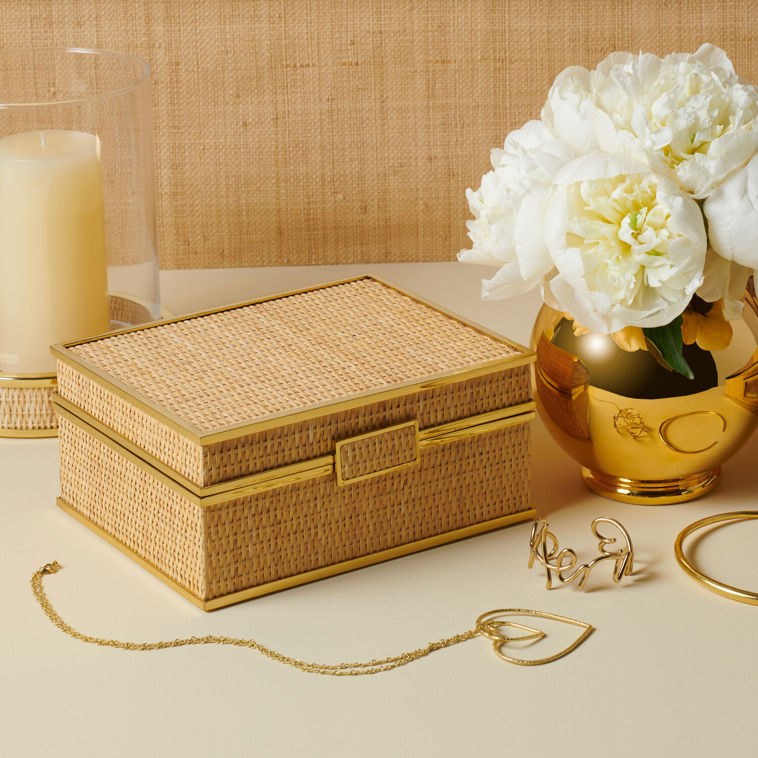 Colette Cane Jewelry Box