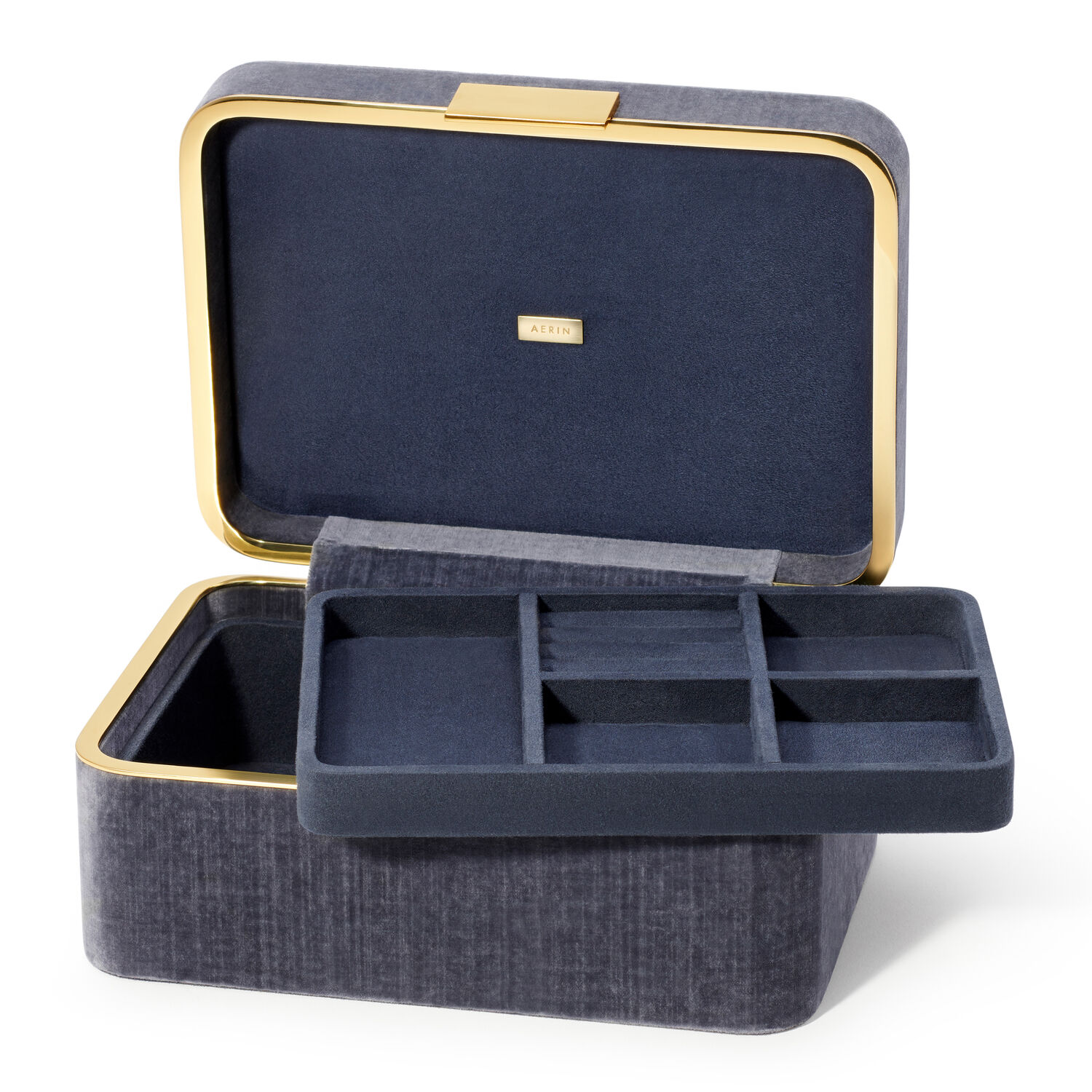 Beauvais Velvet Jewelry Box