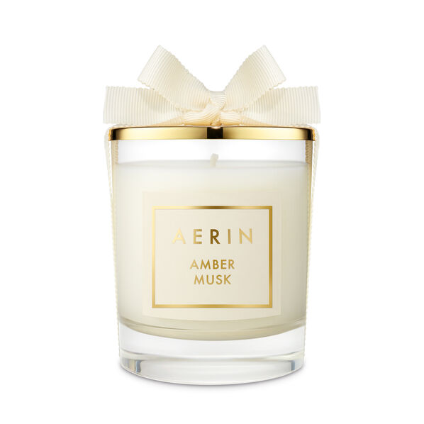 Amber Musk Candle