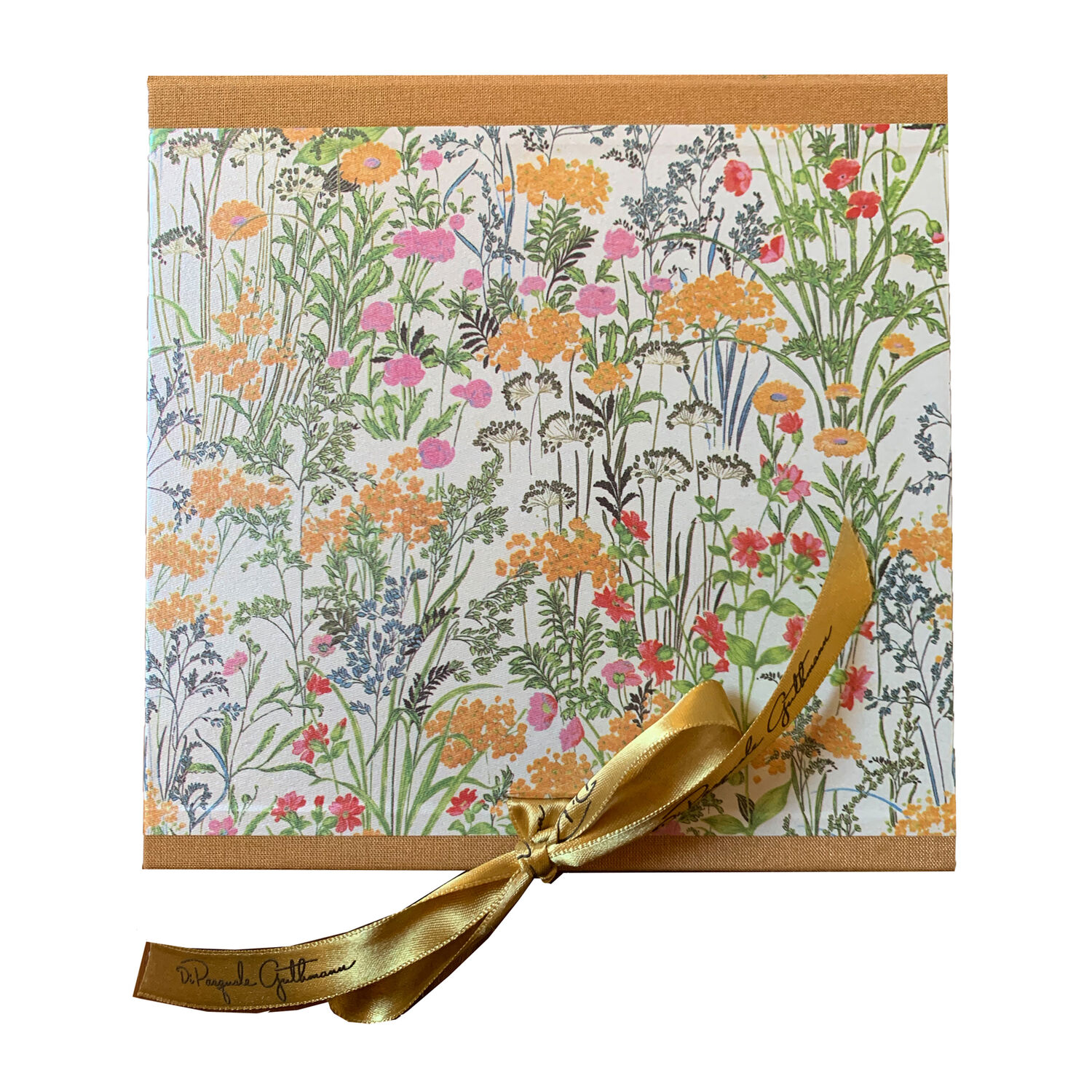 Mixed Flower Cocktail Napkin, Set of 4