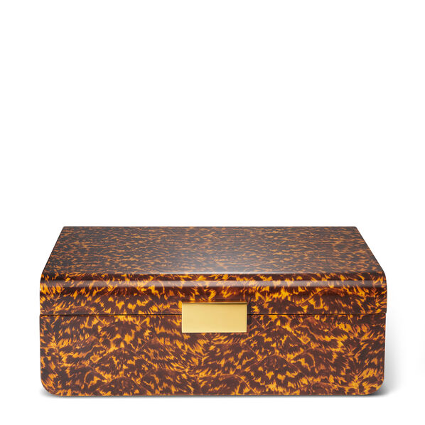 Modern Tortoise Large Jewelry Box