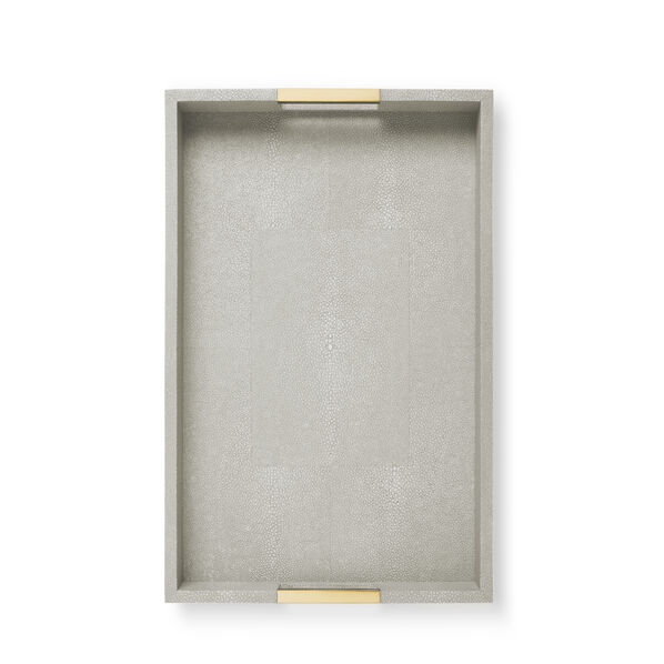 Modern Shagreen Desk Tray