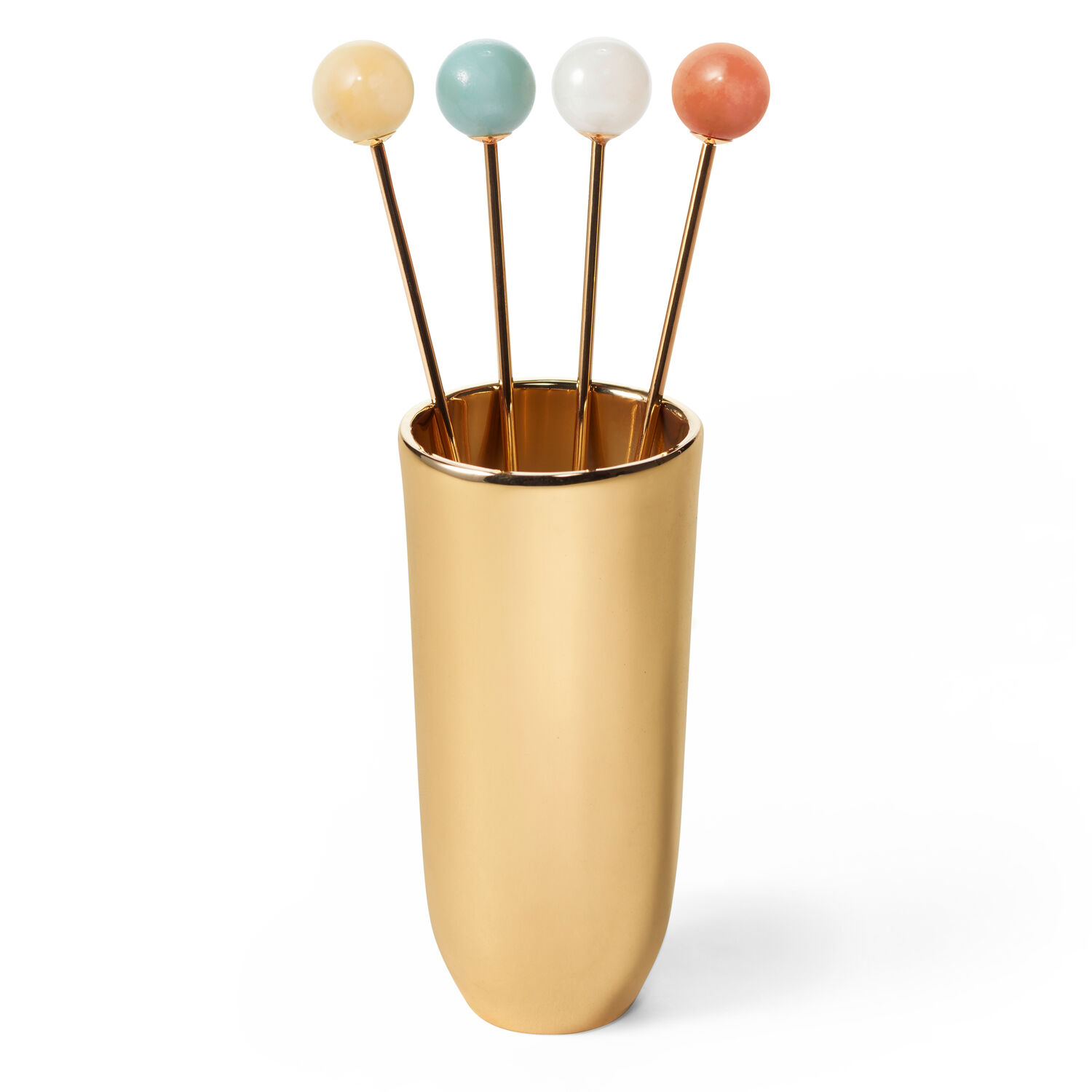 Anette Cocktail Picks With Holder