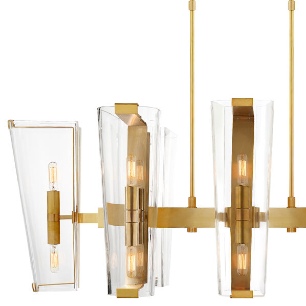 Alpine Medium Linear Chandelier