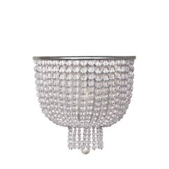 Jacqueline Medium Sconce with Clear Glass