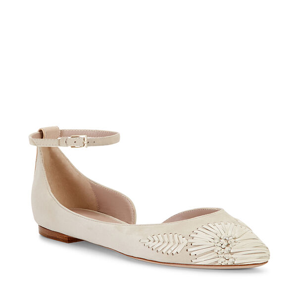 EMBROIDERED POINTED BALLET FLAT