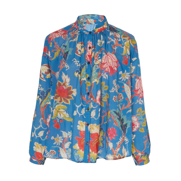 Kiki Blue Electric Shirt