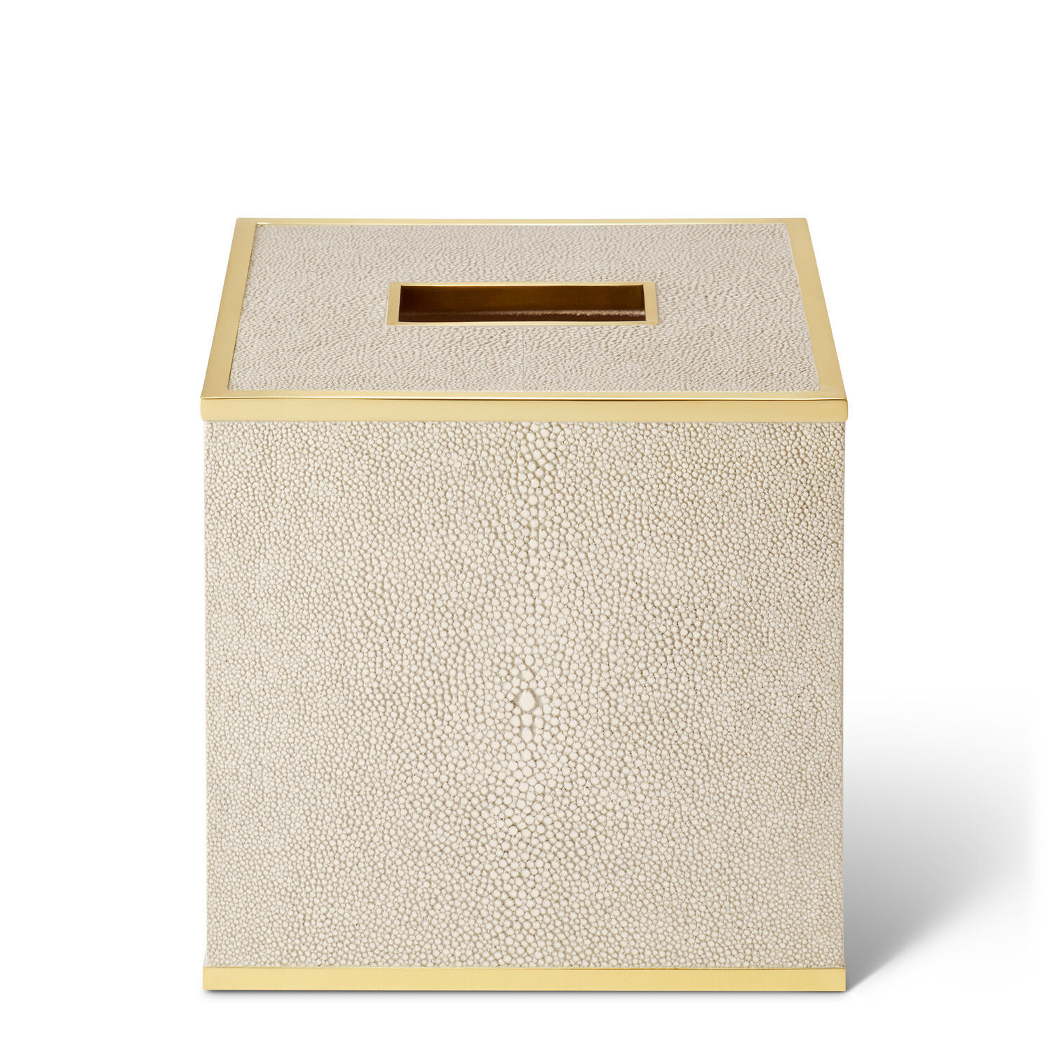 Classic Shagreen Tissue Box Cover