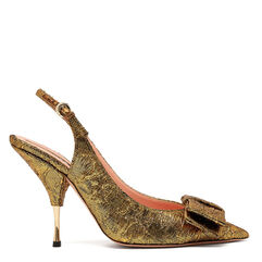 Miki Brocade Slingback Pumps