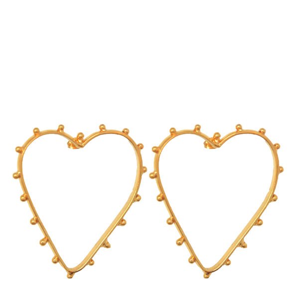 Dots Cœur Earrings