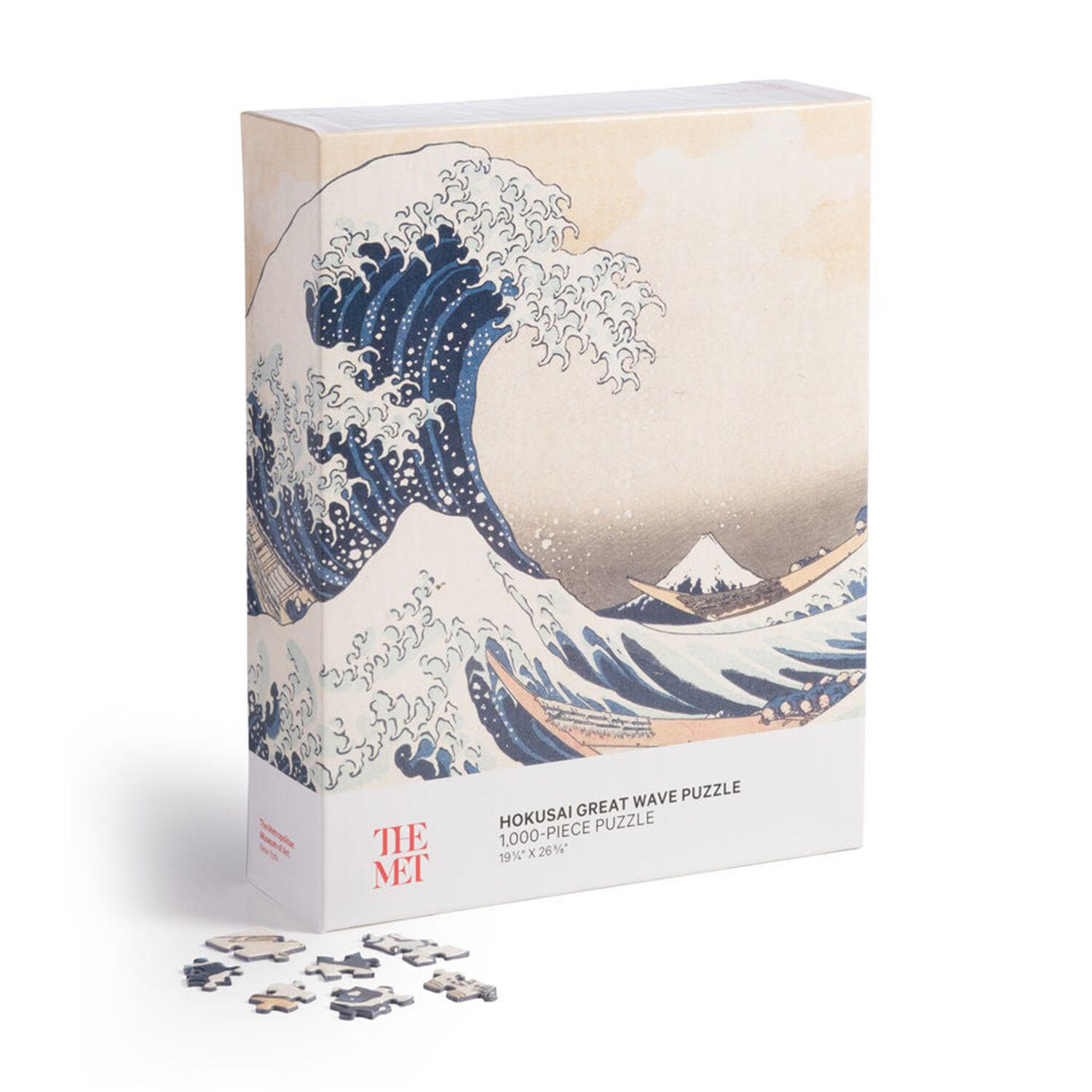 Hokusai Great Wave Puzzle