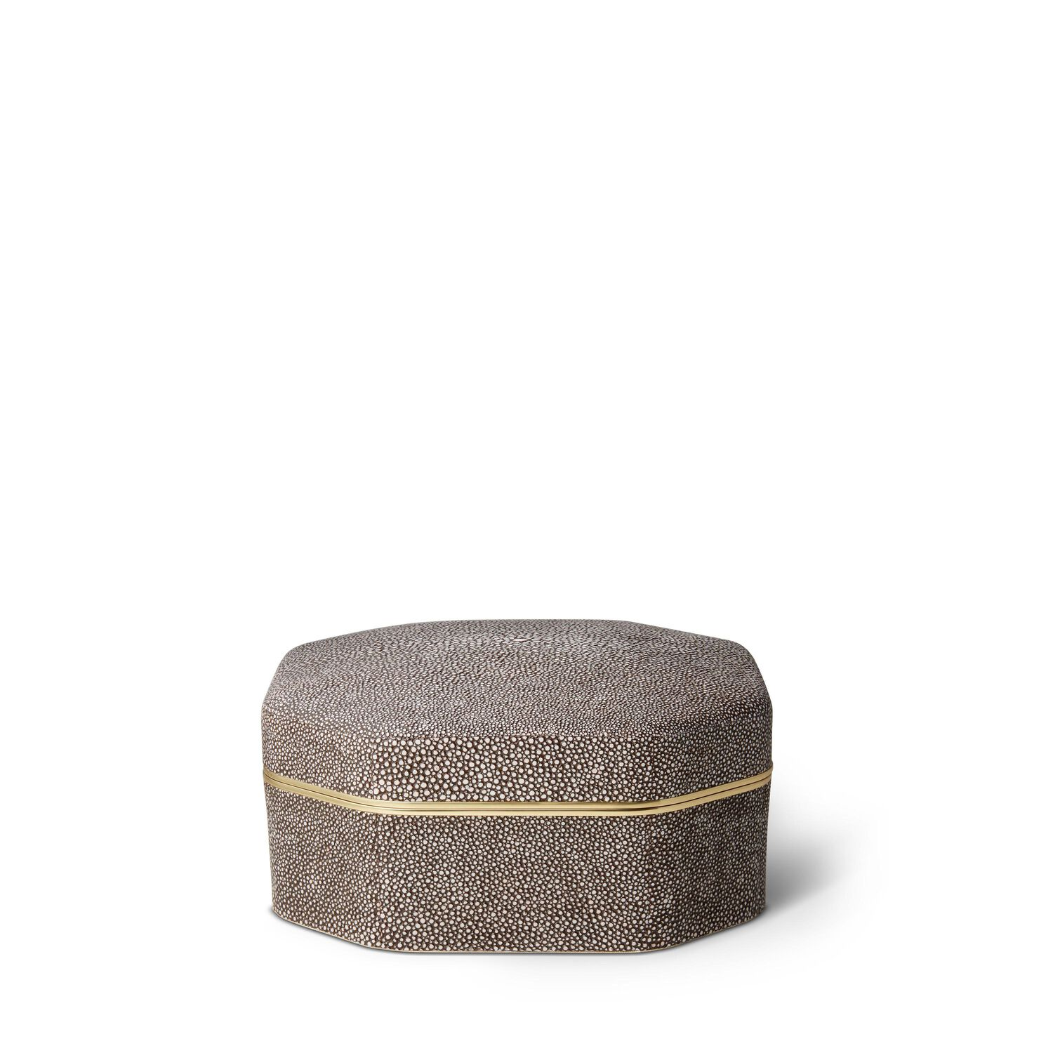 Shagreen Octagonal Box