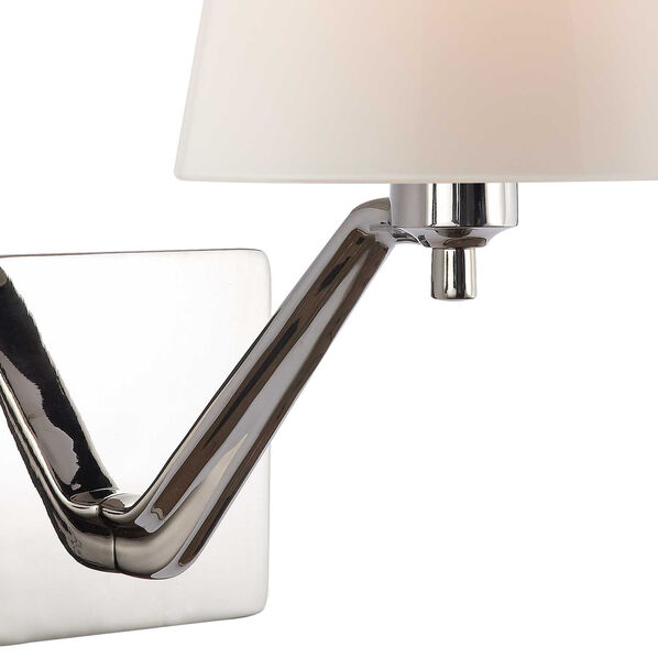 Union Single Arm Sconce With Glass Shade