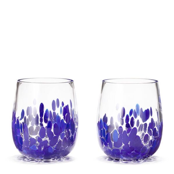 Artisanal Dot Tumbler, Set of 2