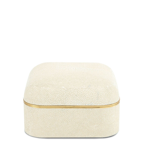 Modern Shagreen Square Box