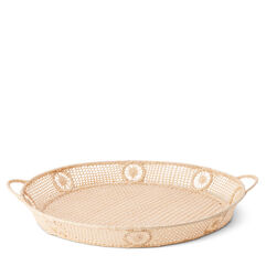 Wicker Oval Tray