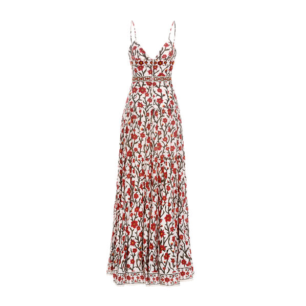 Narcisco Embroidered Maxi Dress