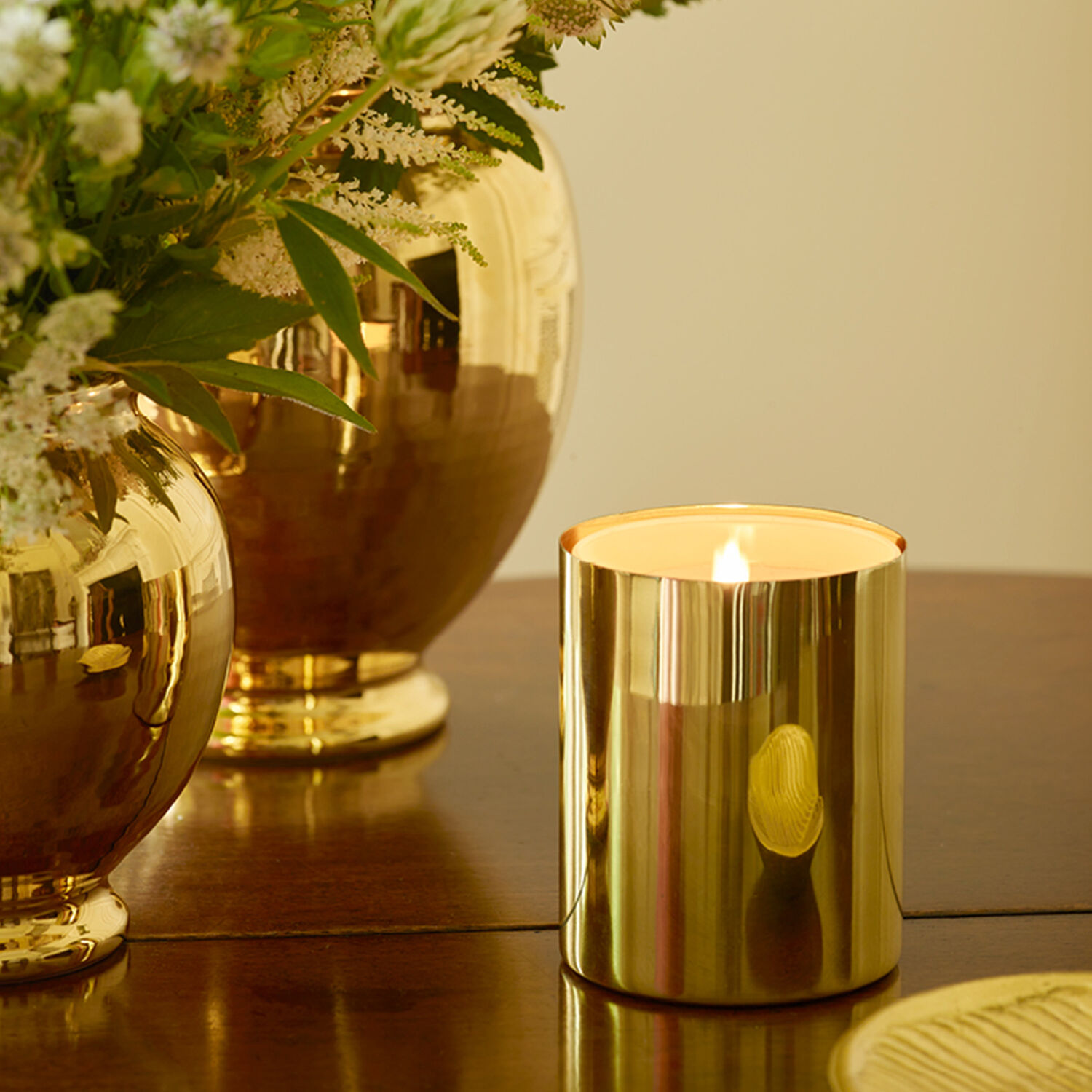 Brass Candle Sleeve
