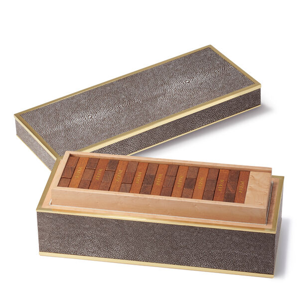 Shagreen JENGA® Set