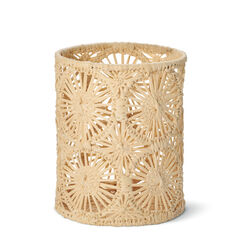 Wicker Candle Sleeve