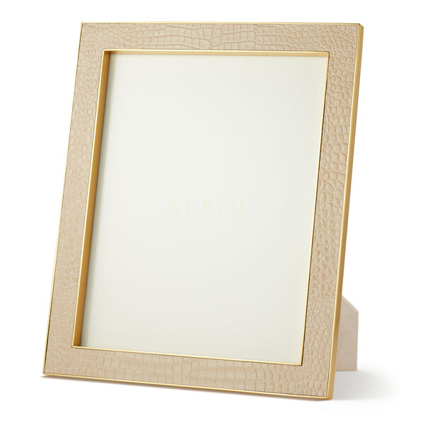 Classic Croc Leather 8x10 Frame