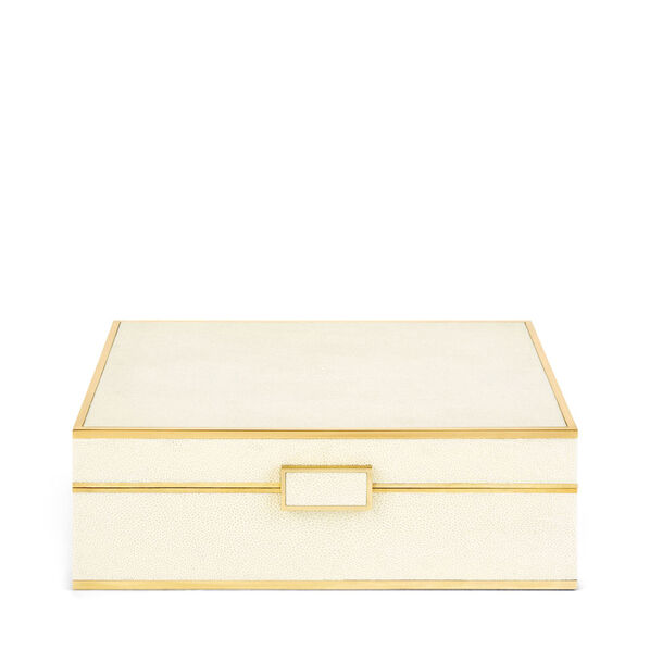 Classic Shagreen Jewelry Box