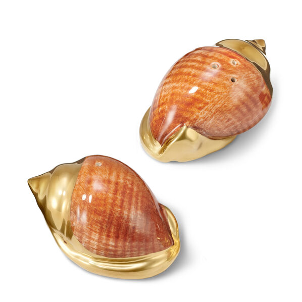 Shell Salt and Pepper Shakers
