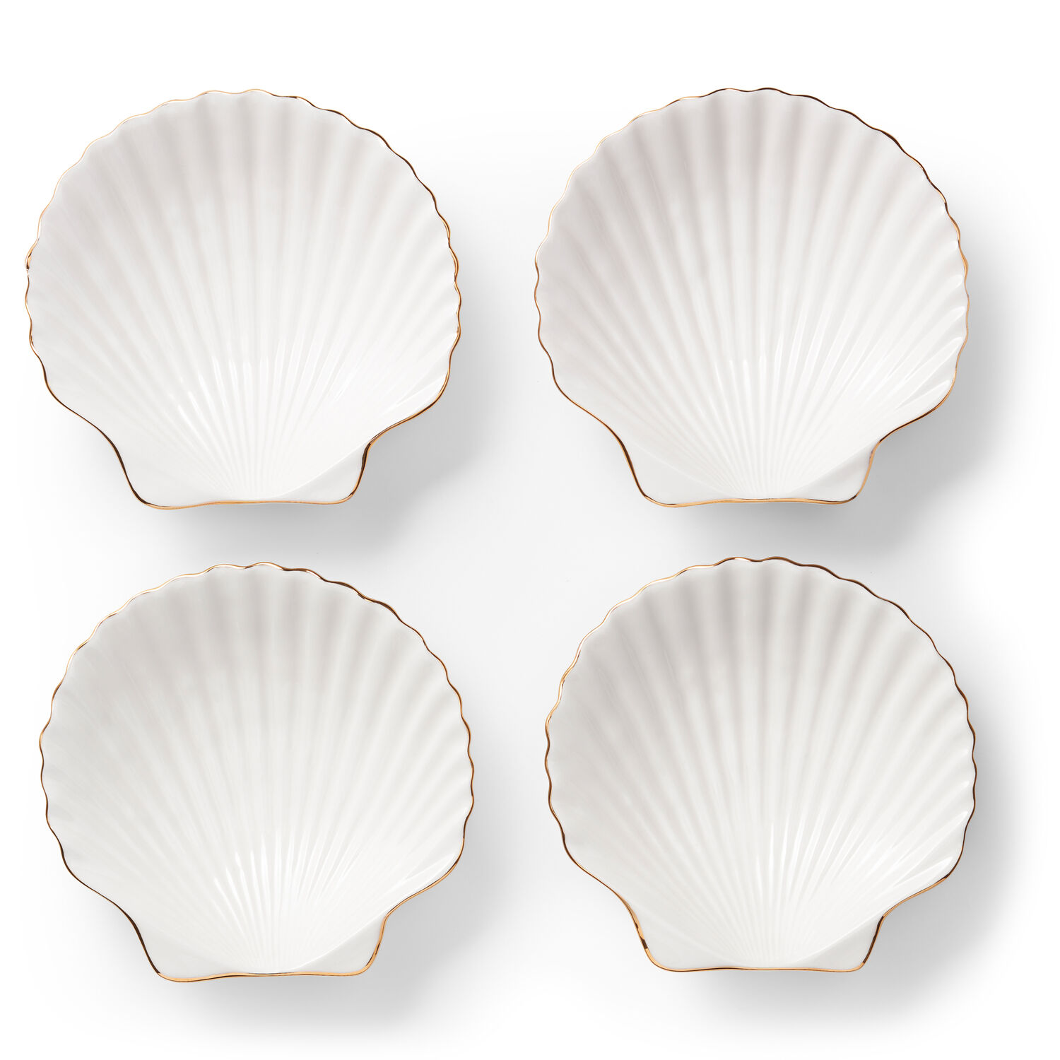 Shell Appetizer Plates