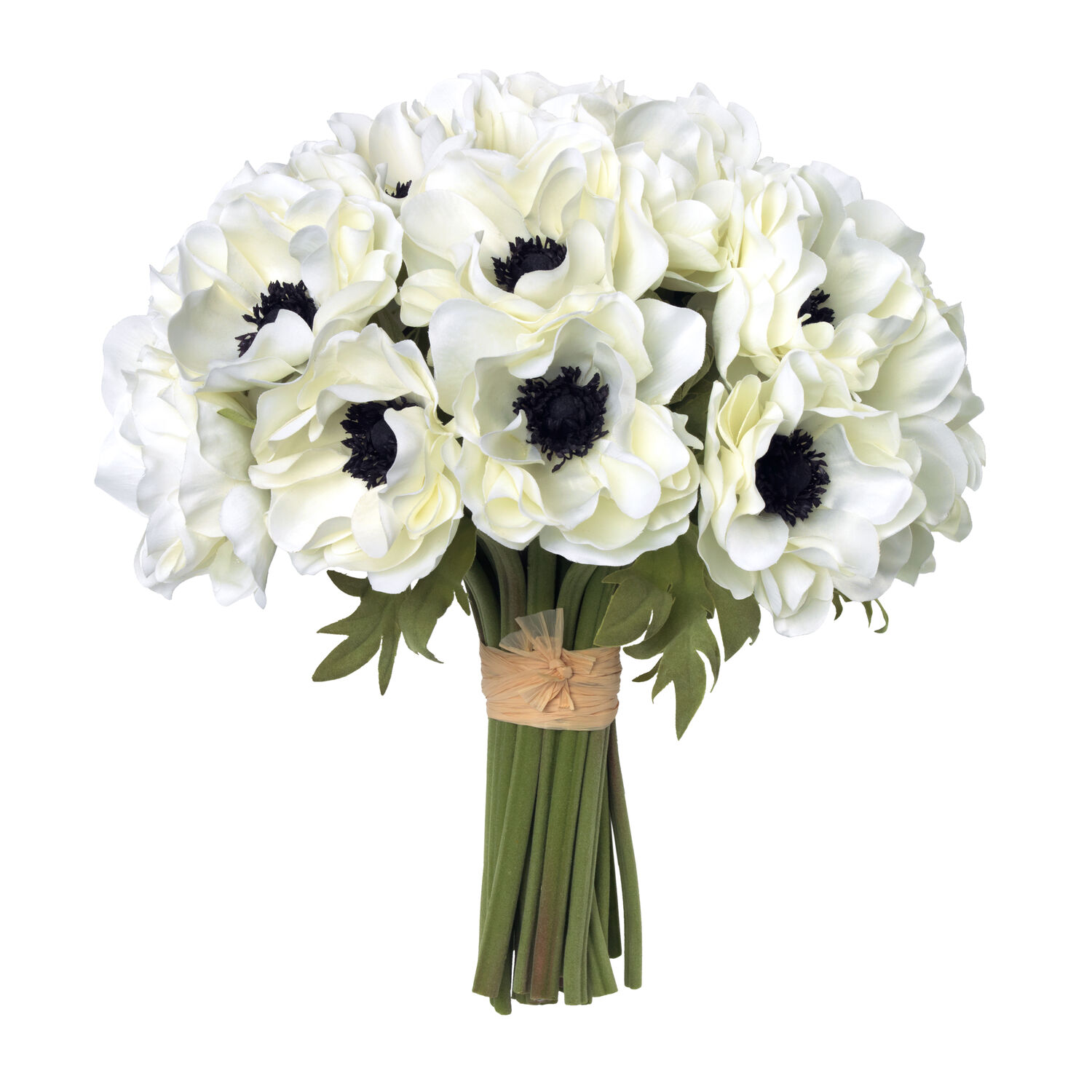 White Anemones and Paola Large Vase