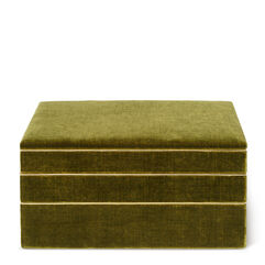 Valentina Velvet Stacked Jewelry Box