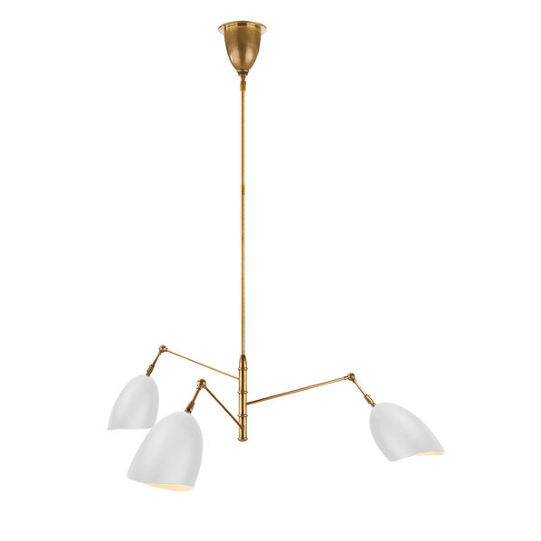 Sommerard Medium Triple-Arm Chandelier
