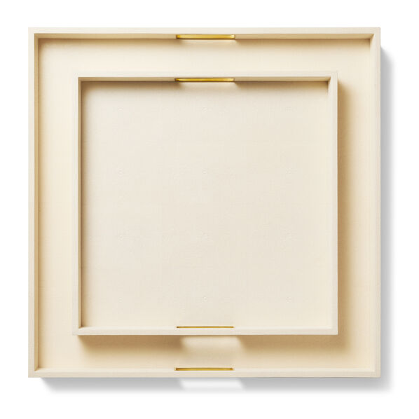 Renata Shagreen Square Tray