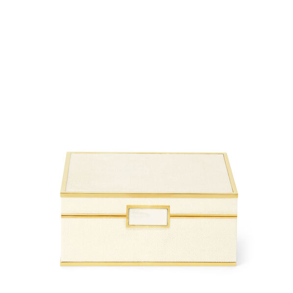 Classic Shagreen Small Jewelry Box