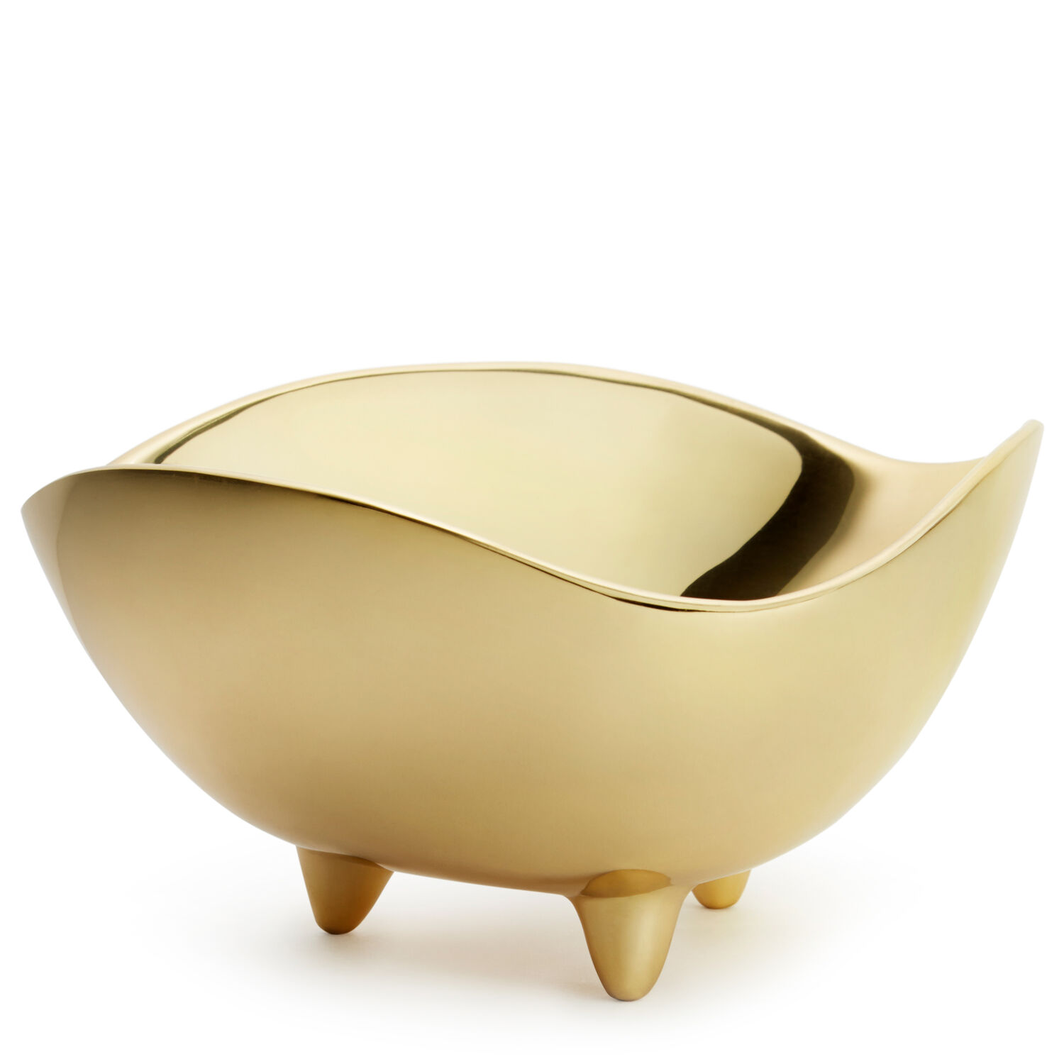 Footed Deco Bowl