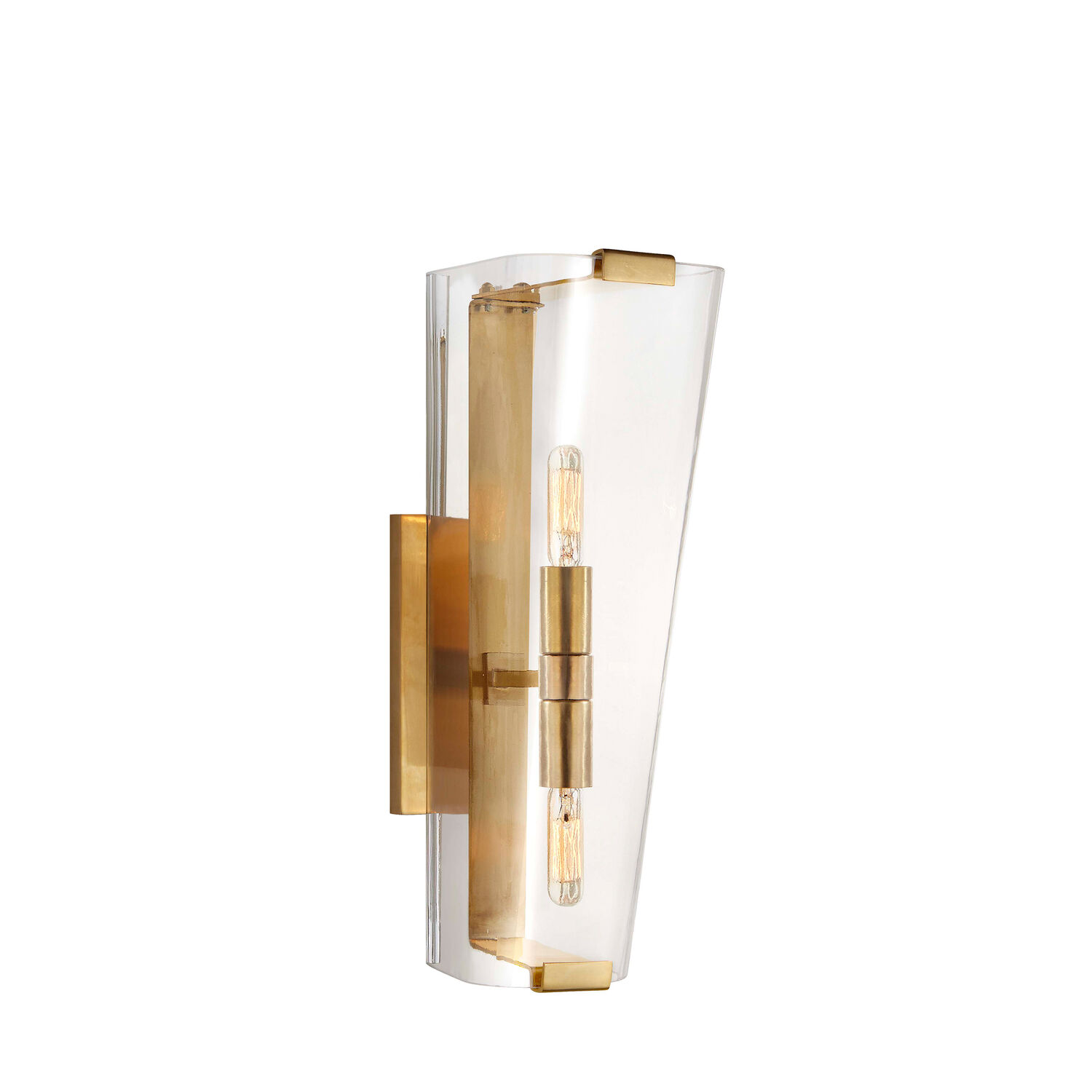 Alpine Single Sconce with Clear Glass
