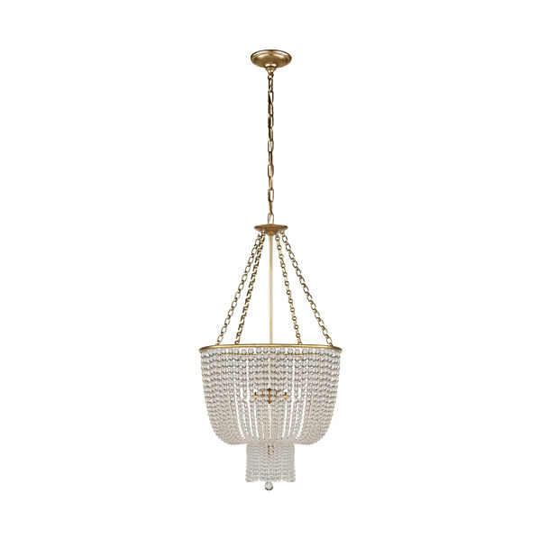 Jacqueline Chandelier with Clear Glass